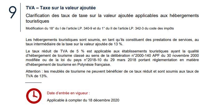Information fiscale